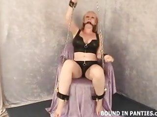 Milf torment Milf tori gets chained up and tormented
