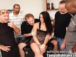 Fuck gang small tit Tight latina slut bukkake gang fuck