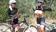 Hot bike ride