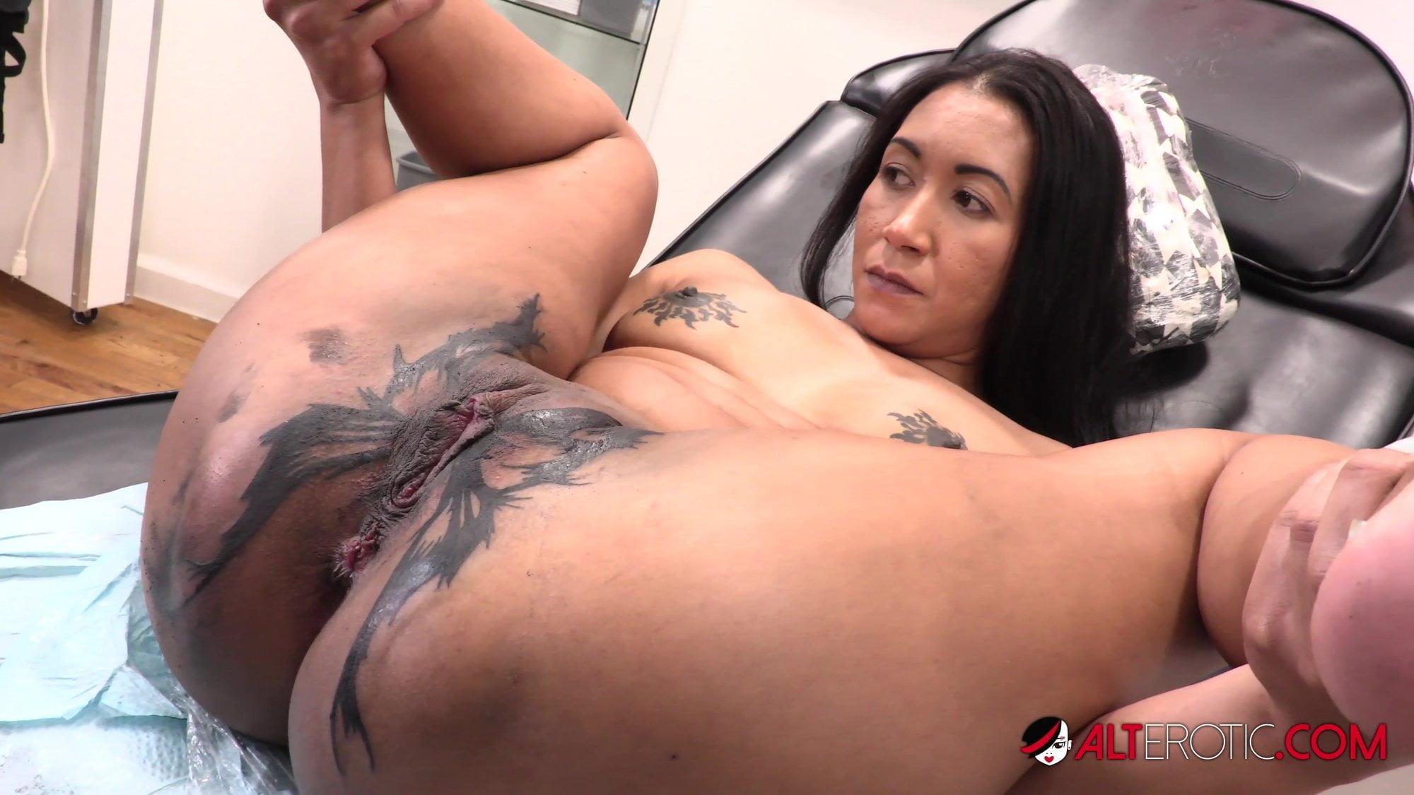 Petite Latina Teen Tattoo