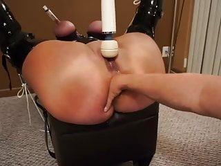 Psi of an ass - Fisting the ass of an udder bound pawg piggy