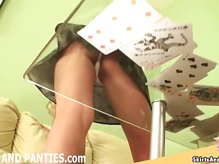 Tiny panties ass Do you like how my ass peeks out of these tiny little pantie
