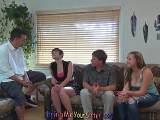 Big brother porn film Nervous brother films not his sister and her girlfriend