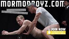 Mormonboyz - пожилой культовый лидер, папочка трахает молодого покорного
