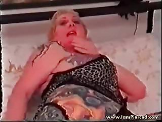 Milf anal toys I am pierced slut with piercings and tattoos anal toys