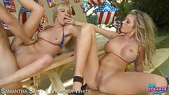 Sexy Blondes Get Their Wet Pussies Fucked