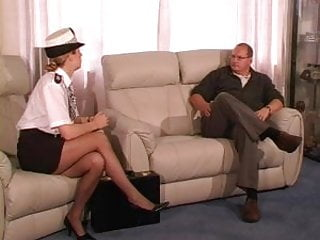 Female spank female free vidio samples Female uk police officer punishes and canes guy