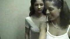 1990s teen twins lesbian casting