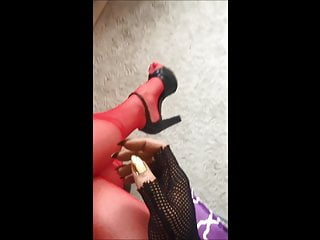 Sexy stockings shoejobs heels - Sexy stockings secretary