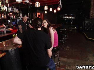 American asian association bar Casey calvert fucks at a bar