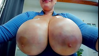 Thick BBW with Large Natural Tits