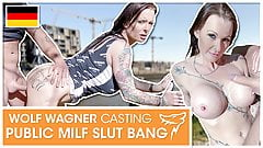 Julia Exclusiv enjoys his milk after fuck! wolfwagner.com
