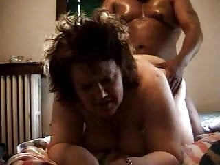 Cock fat mature woman Fat mature woman doggy fucking