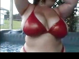 Pictures of sex in a hottub Busty legend in the hottub