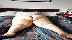 BBW Jennie Sue, taking off my pants