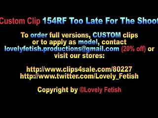 Free handjob facial clips Clip 154rf too late for the shoot - 12:05min, sale: 10