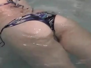 Bikini wrestluing Dad gives not daughter sex education wf