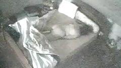Mom caught masturbating. Hidden cam in ceiling fan