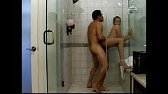Masturbation in the shower before fucking