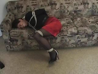Pantyhose gagged gallery - Kelliann bound and gagged