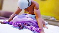 purple girlfriend