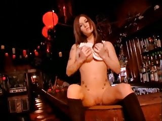 Blow job bars travel - Allie sin blows and fucks in and on the bar