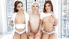 21Sextury Anal Threesome Massage With Ginebra Bellucci