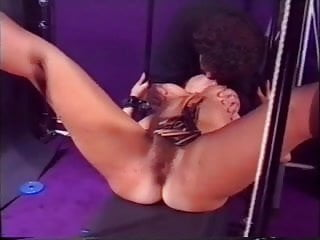 Cunt whipped - Hairy brunette cunt whipping