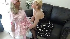 Chastity Sissy Maid Cock Release - Mistress Madame C