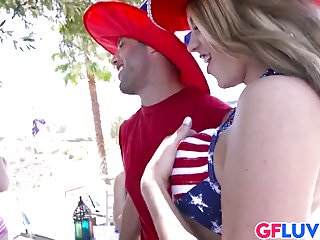 Bbq sex pictures - Blake eden has outdoor sex at the bbq