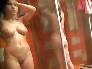 Teens boods - Big boods hidden shower