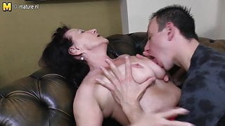 Grandmother fucked by young not her stepson