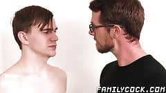 Good looking stepson ass fucked by dad hard and fast