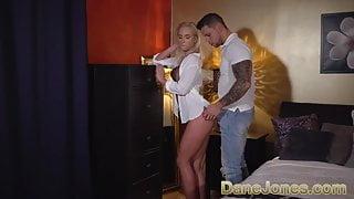 Dane Jones Big cock stud worships amazing natural body