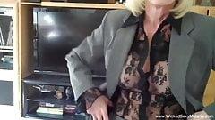 The Perfect Amateur Granny Blowjob