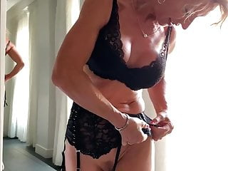 Hardcore pics of women in lingerie - French blond milf marina beaulieu gets fucked by a stranger