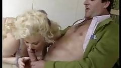 Kirstyn Halborg and Dawn Phoenix - Retro British Fisting
