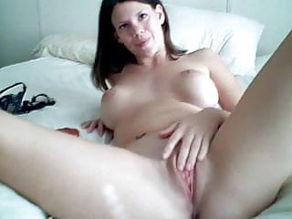 Raving rabbits spank a rabbit - Brunette masturbates - and orgasms -with a rabbit vibrator