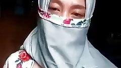 Indonesian JIlbab Cadar Niqab CHANDRA