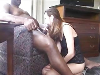 White black porn - White wife with collar and leash. first time bbc