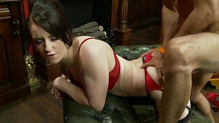 Jasmine moans while the rod get delivered missionary