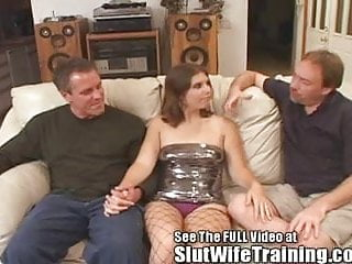 Threesome want wife - Husband joey wants hotwife dana to get a double dicking cums