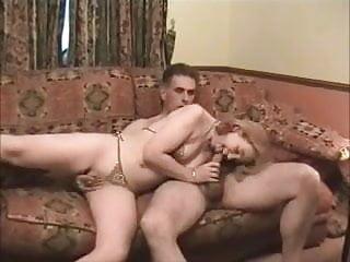 Hardcore british milf British milf slag shagged on my sofa as her hubby films