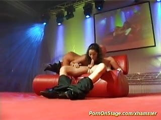 Breast stages puberty Hot real fuck on public show stage