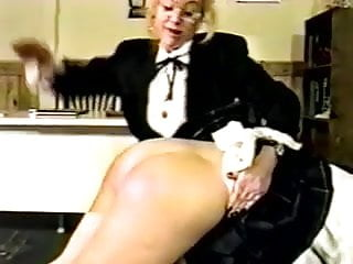 Physiology of the female breast Spanked by the female teacher