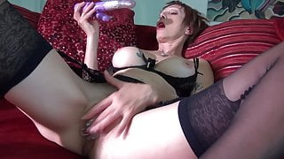 granny masturbating nylons - incredible body
