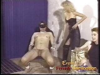 Make gay bondage - Merciless mistresses team up to make a slaves cock hurt bad