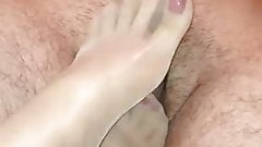 Goddess Gina footjob #1