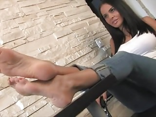 Lesbian feet clips Feet clip - martina