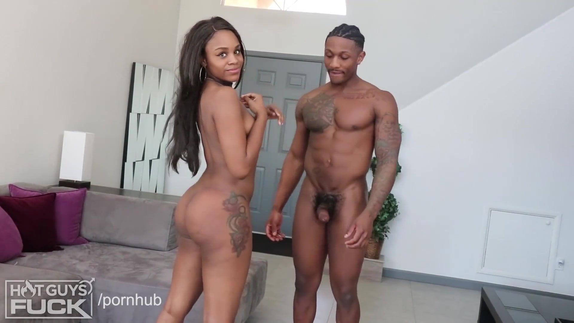 White Girl 3 Black Guys